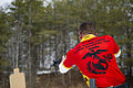 U.S. Marine Sgt. Cody Nelson with the United States Marine Corps Shooting Team, engages multiple targets on the move during a live fire range at Camp Upshur, Marine Corps Base Quantico, Va., Mar. 6, 2014 140306-M-RO295-477.jpg
