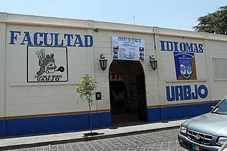 Benito Juárez Autonomous University of Oaxaca - The UABJO School of Languages campus, located near downtown.
