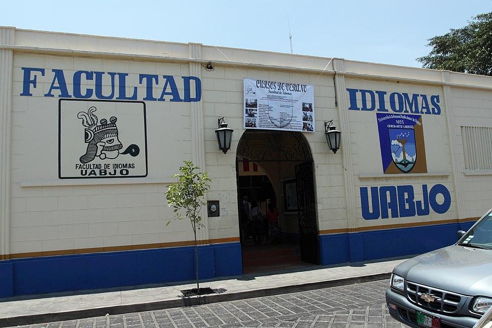 UABJO Facultad de Idiomas Oaxaca