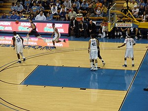 2008–09 UCLA Bruins men's basketball team - Pauley Pavilion, UCLA vs. FIU