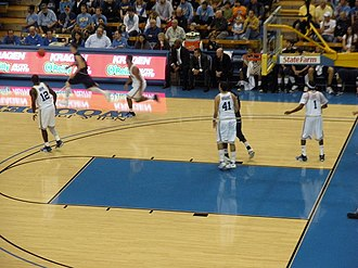FIU Panthers men's basketball - FIU at UCLA Pauley Pavilion, 2008