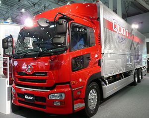 Nissan Diesel Quon - Image: UD Quon