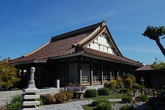 Japantown, San Jose - San Jose Betsuin Buddhist Temple.