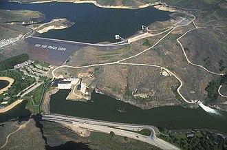 Boise River - Lucky Peak Dam, northeast of Boise