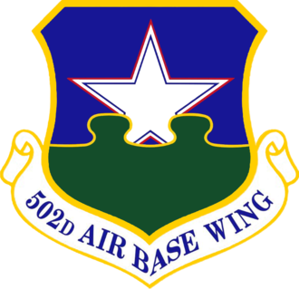 Joint Base San Antonio - Image: USAF 502d Air Base Wing