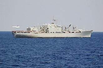 Mars-class combat stores ship - Image: USNS San Jose T AFS 7