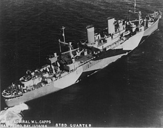 USS Admiral W. L. Capps (AP-121) - Image: USS Admiral W. L. Capps (AP 121)