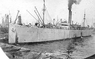 USS Arizonan (ID-4542A) - Arizonan as a troop transport in 1919.