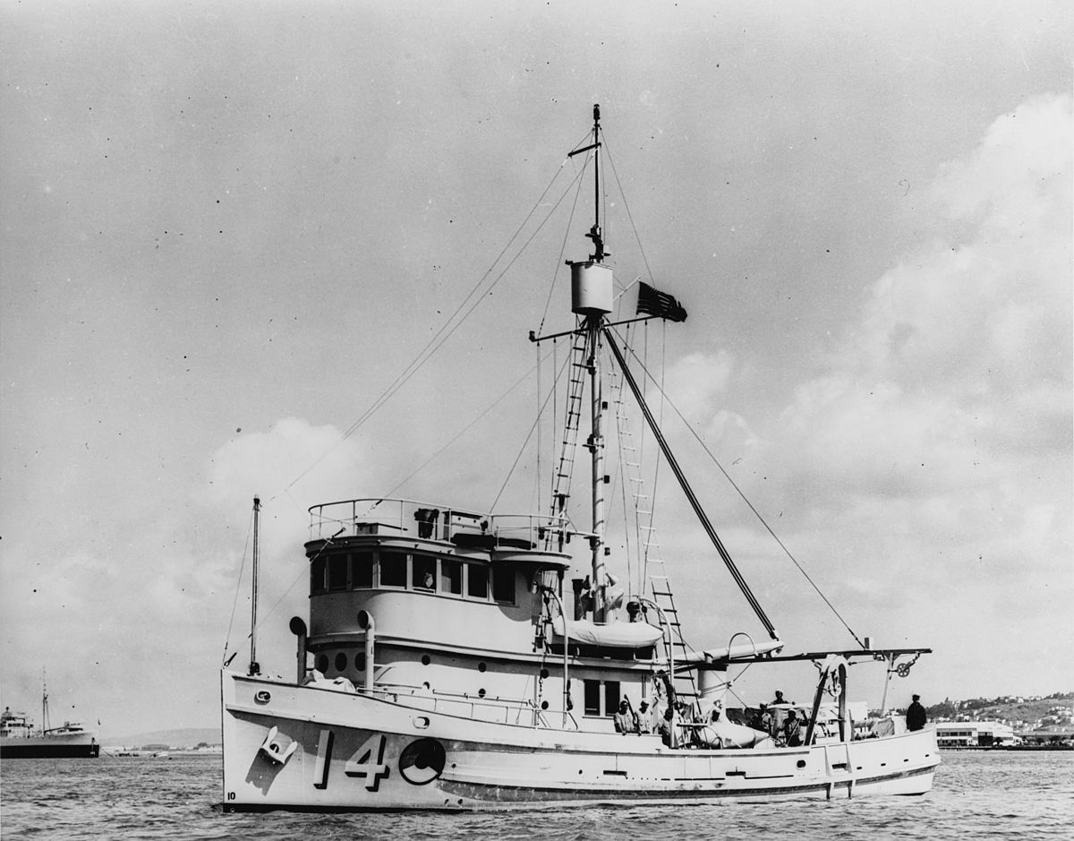 USS Condor (AMc-14) - Wikipedia