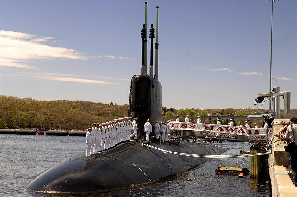 USS Hawaii (SSN-776) comm