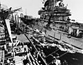 USS Hornet (CV-12) replenishes from USS Sacramento (AOE-1).jpg