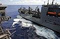 USS John C. Stennis offloads ordnance. (8672851330).jpg