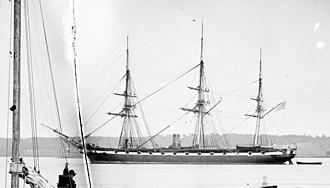 USS Pensacola (1859) - USS Pensacola