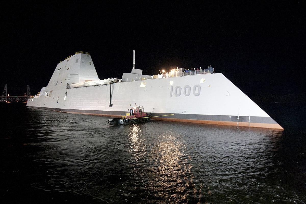 ผลการค้นหารูปภาพสำหรับ USS Zumwalt