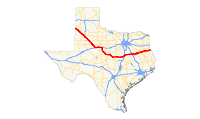 US 84 (TX) map.svg