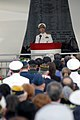 US Navy 031207-N-8157C-171 Commander, U. S. Pacific Command, Adm. Thomas B. Fargo speaks during the 62nd Pearl Harbor Anniversary ceremony of the attack on Pearl Harbor.jpg