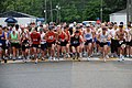 US Navy 090516-N-3312P-001 Runners kick off the start of the Red, White and Blue 5-killometer Run at Naval Weapons Station Yorktown-Cheatham Annex.jpg