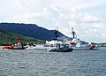 US Navy 100606-N-0995C-102 The U.S. Coast Guard cutter Mellon (WHEC 717) pulls into Lumut Naval Base, Malaysia, before participating in Cooperation Afloat Readiness and Training (CARAT) Malaysia 2010.jpg