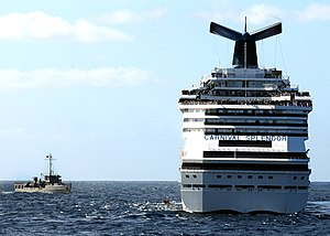 US Navy 101109-N-1004S-148 Mexican navy vessel P110 holds position off the port bow of the cruise ship Carnival Splendor.jpg