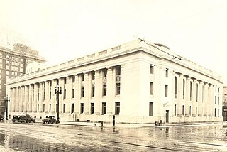 Frank E. Moss United States Courthouse Historic building in Salt Lake City, Utah, U.S.