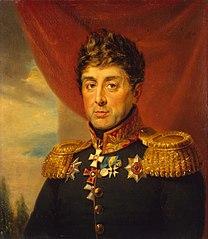 Portrait of Yevstafy Ye. Udom (1760-1836) (2nd)