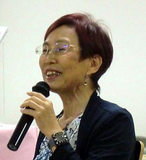 Chizuko Ueno - Chizuko Ueno giving a talk at the University of Tokyo (2014)