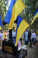 Ukrainian Delegation in Levashovo Memorial Cemetery 23.JPG