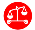 category unbalanced scales of justice wikimedia commons Scales of Justice Logo Scales of Justice with Gavel