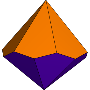Hexagonal trapezohedron - Image: Unequal hexagonal trapezohedron