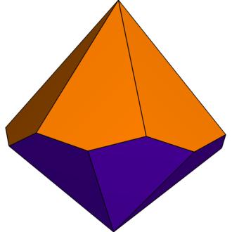 Hexagonal trapezohedron - Image: Unequal hexagonal trapezohedron