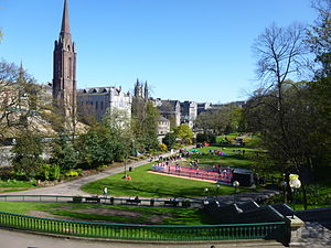 أبردين: Union Terrace Gardens, Aberdeen