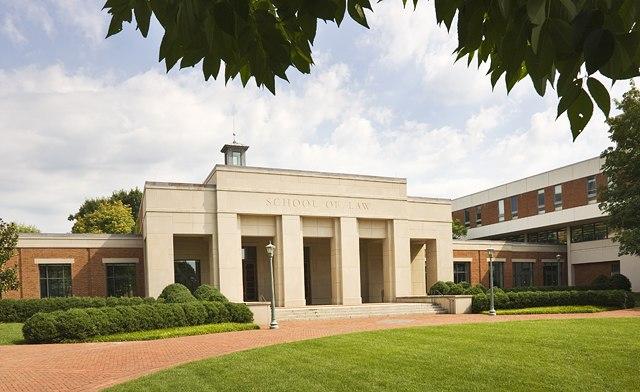 The University of Virginia School of Law.