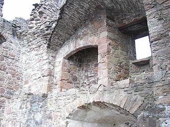 Urquhart Castle inside wall.jpg