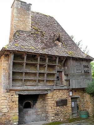 Communal oven - Four banal at Urval, Dordogne, France