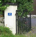 Useful information on the gate pillar of a village house - geograph.org.uk - 938258.jpg