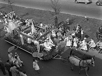 Liberation Day (Netherlands) - Parade on Liberation Day 1960 in Utrecht