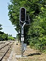 Vélines gare signal.jpg