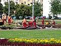 Vítězné náměstí, rekonstrukce tramvajové trati.jpg