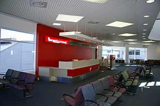 Melbourne Airport - Gate 13 used by Virgin Australia at T4
