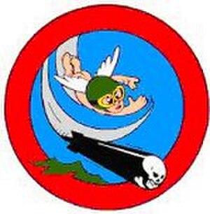 VFA-115 - The original patch for Torpedo Squadron Eleven designed by Walt Disney