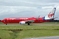 VH-VUJ 'Suzzie Blue' Boeing 737-8FE Virgin Blue (8709029545).jpg