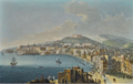VIEW OF NAPLES LOOKING NORTH TOWARDS THE CASTEL SANT'ELMO.PNG