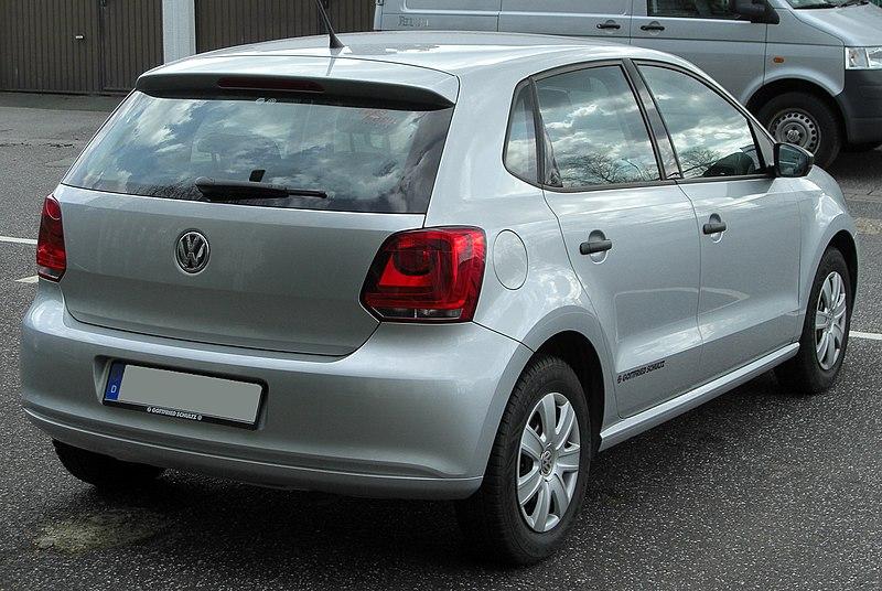 File:VW Polo V rear 20100402.jpg