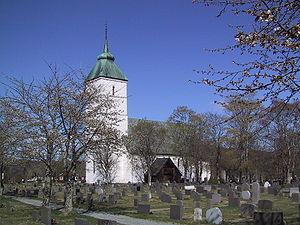 Værnes Church - Image: Vaernes kyrkje