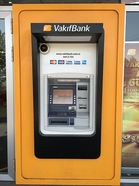 イスタンブール・ATM