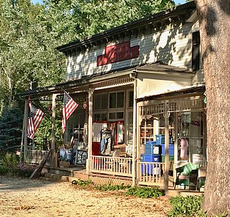 National Register of Historic Places listings in Jefferson County, Missouri - Image: Valentine Leight General Store