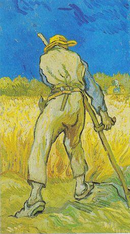 Van Gogh - Der Schnitter (Nach Millet)