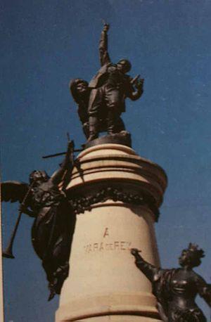 Monument a Vara de Rey, Eivissa, Spain