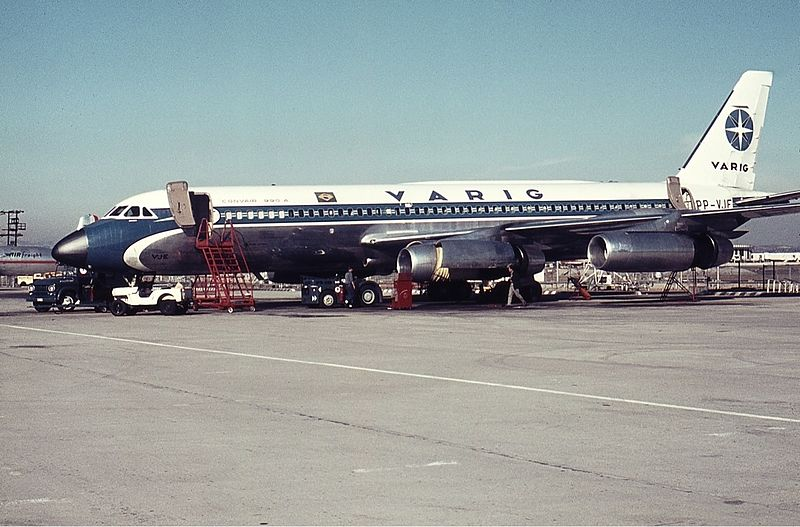 Ficheiro:Varig Convair CV-990-30A-8 Proctor-2.jpg