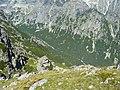 Velká studená dolina a Velký studený potok, Vysoké Tatry.JPG
